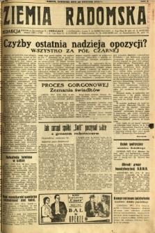Ziemia Radomska, 1932, R. 5, nr 97
