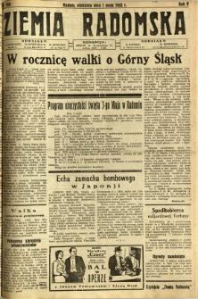 Ziemia Radomska, 1932, R. 5, nr 100