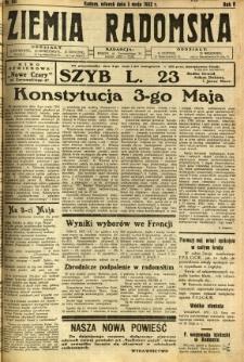 Ziemia Radomska, 1932, R. 5, nr 101