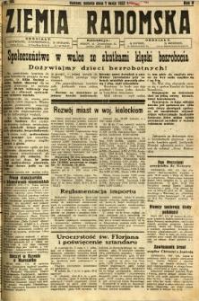 Ziemia Radomska, 1932, R. 5, nr 103