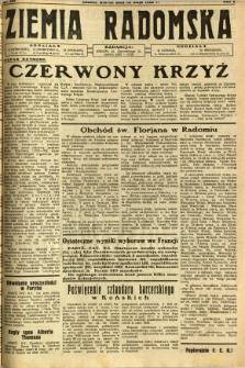 Ziemia Radomska, 1932, R. 5, nr 105