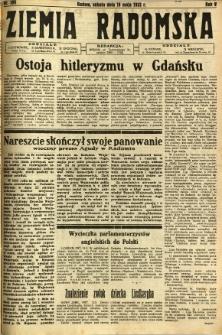 Ziemia Radomska, 1932, R. 5, nr 109