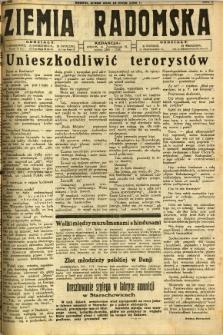 Ziemia Radomska, 1932, R. 5, nr 111