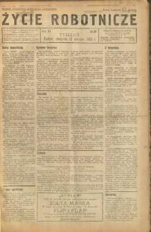 Życie Robotnicze, 1933, R. 11, nr 41
