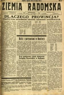 Ziemia Radomska, 1932, R. 5, nr 116