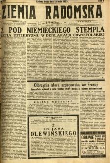 Ziemia Radomska, 1932, R. 5, nr 117
