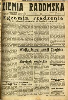 Ziemia Radomska, 1932, R. 5, nr 118