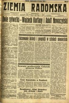 Ziemia Radomska, 1932, R. 5, nr 119