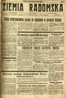 Ziemia Radomska, 1932, R. 5, nr 121
