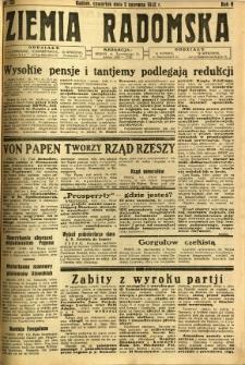 Ziemia Radomska, 1932, R. 5, nr 123