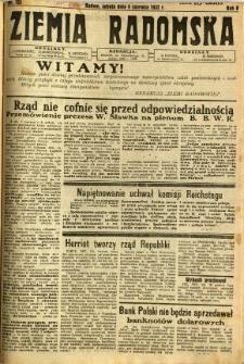 Ziemia Radomska, 1932, R. 5, nr 125