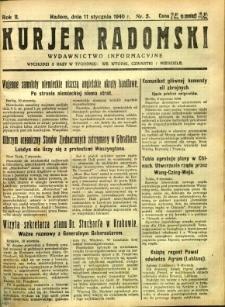 Kurier Radomski, 1940, R. 2, nr 5