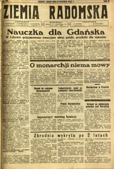 Ziemia Radomska, 1932, R. 5, nr 128