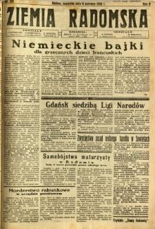 Ziemia Radomska, 1932, R. 5, nr 129
