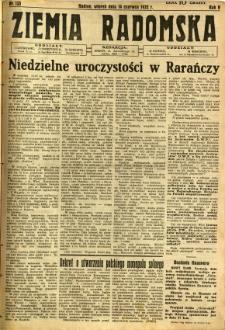 Ziemia Radomska, 1932, R. 5, nr 133