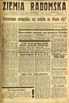 Ziemia Radomska, 1932, R. 5, nr 134
