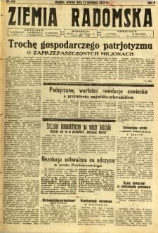 Ziemia Radomska, 1932, R. 5, nr 139