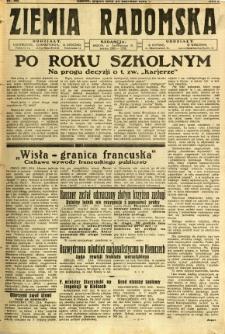 Ziemia Radomska, 1932, R. 5, nr 142