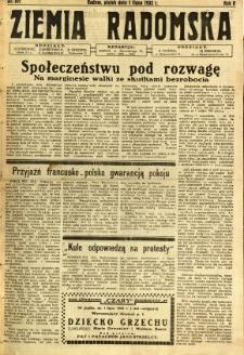 Ziemia Radomska, 1932, R. 5, nr 147