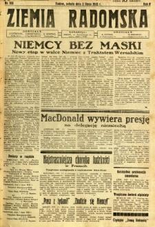 Ziemia Radomska, 1932, R. 5, nr 148