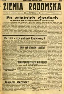 Ziemia Radomska, 1932, R. 5, nr 150