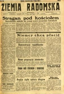 Ziemia Radomska, 1932, R. 5, nr 152