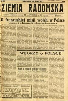 Ziemia Radomska, 1932, R. 5, nr 162