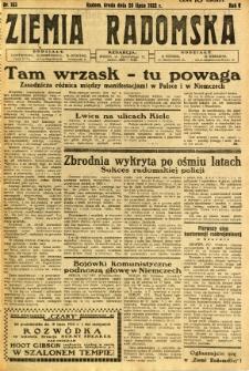 Ziemia Radomska, 1932, R. 5, nr 163