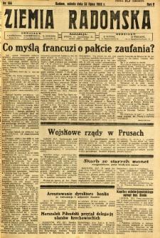 Ziemia Radomska, 1932, R. 5, nr 166