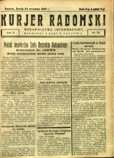 Kurier Radomski, 1940, R. 2, nr 10