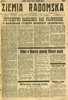 Ziemia Radomska, 1932, R. 5, nr 174