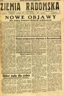 Ziemia Radomska, 1932, R. 5, nr 181