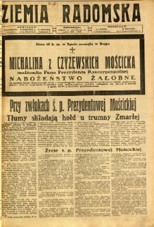 Ziemia Radomska, 1932, R. 5, nr 189