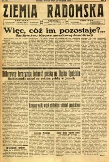 Ziemia Radomska, 1932, R. 5, nr 191