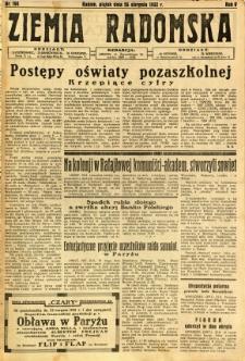 Ziemia Radomska, 1932, R. 5, nr 194