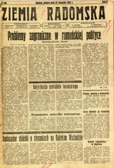 Ziemia Radomska, 1932, R. 5, nr 195