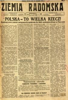 Ziemia Radomska, 1932, R. 5, nr 197
