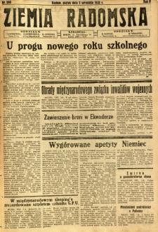 Ziemia Radomska, 1932, R. 5, nr 200