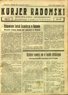 Kurier Radomski, 1940, R. 2, nr 13