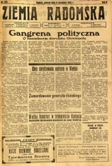Ziemia Radomska, 1932, R. 5, nr 203