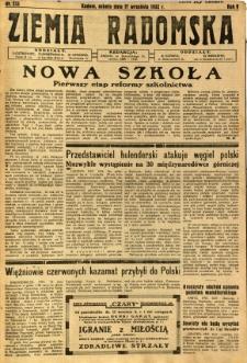 Ziemia Radomska, 1932, R. 5, nr 213