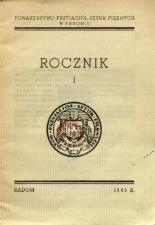 Rocznik I