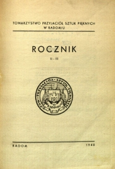 Rocznik II-III