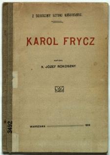 Karol Frycz : z dziedziny sztuki kościelnej