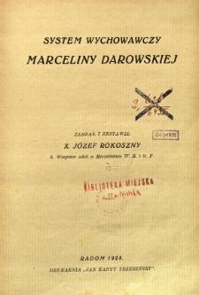 System wychowawczy Marceliny Darowskiej