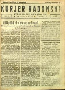 Kurier Radomski, 1940, R. 2, nr 18