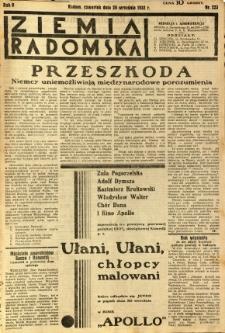 Ziemia Radomska, 1932, R. 5, nr 223