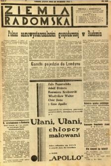 Ziemia Radomska, 1932, R. 5, nr 224