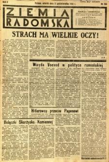 Ziemia Radomska, 1932, R. 5, nr 233