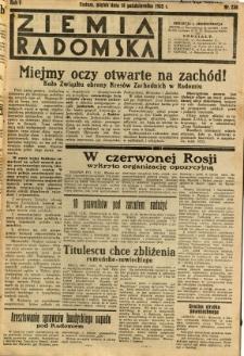 Ziemia Radomska, 1932, R. 5, nr 236